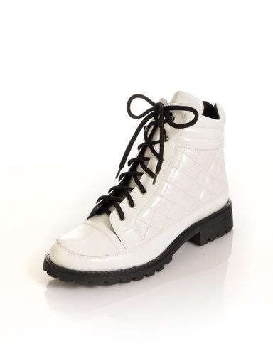 Zapatos botas con de cordones-botín botas de cuero de con Alba Moda talla 39 (5,5) deae88