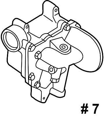 19210615 Duramax Engine Oil Cooler Lmm Lbz Lb7 Lly 6 6l 01 10 Sierra
