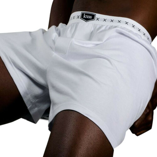 Designer Men/'s Soft Combed Cotton enhancing Boxer Shorts 1 Pair KXSS
