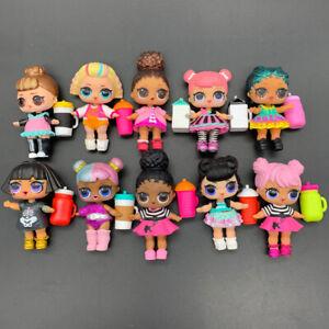 Lot 5X LOL Surprise Dolls with Random Dress Shoes Bottle Gift for Girl