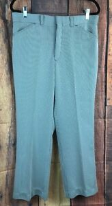 bb9b74882cf Details about Vtg SEARS MENS STORE Sz 36 Short Pants Polyester Pinstripe  70's Hipster Grandpa