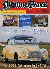 Oldtimer Praxis 3 96 1996 VW K70LS NSU Prima Monet Goyon Autobianchi A 112 MG  C