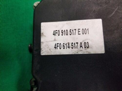 04-06 AUDI A6 ESP AWD ABS ANTI-LOCK BRAKE CONTROL MODULE PUMP  4F0 910 517 E001