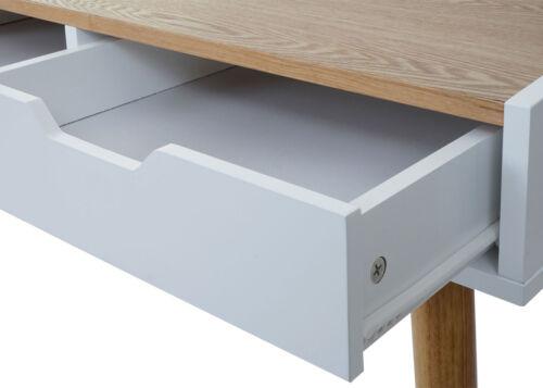 120x55cm MDF Frêne-Optik Bureau mcw-a70 table d/'ordinateur bureau