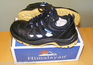 Himalayan-5011-BLACK-REFLECTIVE-TRAINER-SAFETY-WORK-SHOE-BOOT-SIZE-6-40