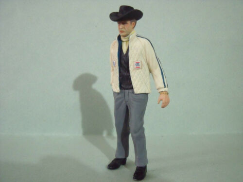 CARROLL  SHELBY  1/18  UNPAINTED  FIGURE  BY  VROOM  FOR  FORD  MUSCLE  CARS