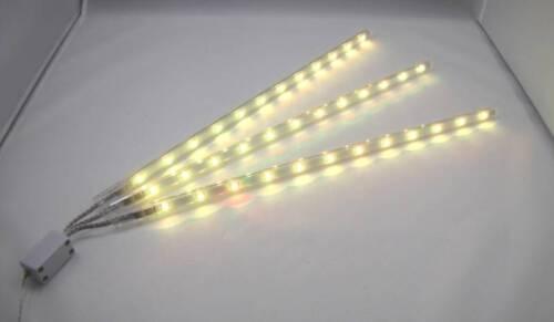 BISCAY LED Lichtleisten 2er-Set  6x40cm LED Leisten 7 Colour Change Farbwechsel