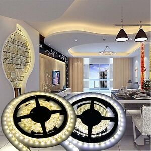 5M-10M-15M-20M-12V-3528-5050-5630-LED-Flexible-Strip-Light-Warm-White-Tape