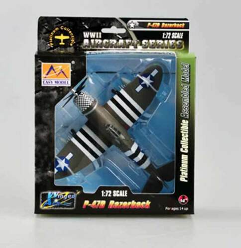Easy Model P-47D Razorback 78th FG USAAF WZ-K 42-75462 NEU 1:72 Fertigmodell OVP
