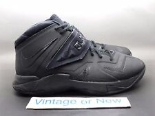 release date: 02b05 a6372 item 5 Nike LeBron Zoom Soldier VII 7 Blackout Triple Black GS sz 7Y -Nike  LeBron Zoom Soldier VII 7 Blackout Triple Black GS sz 7Y