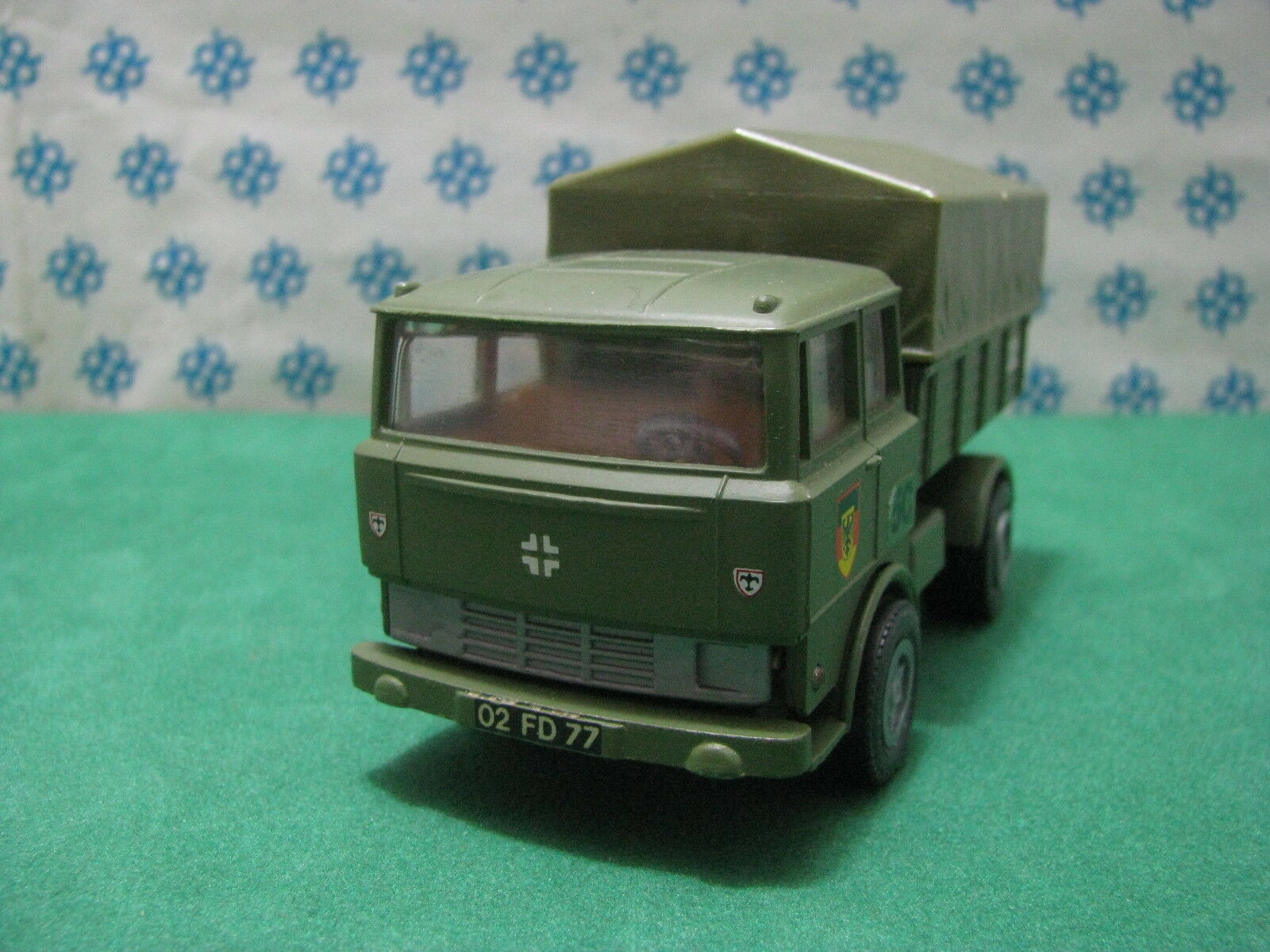 Vintage - Faun Lkw Military Tonneau Tilt Trailers - Mini-Gama 920 W.Germany