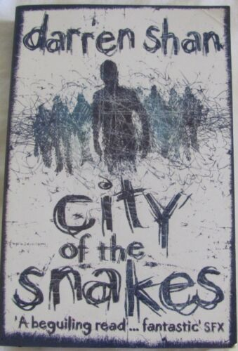 1 of 1 - City of the Snakes, Darren Shan, The City Book Three sc