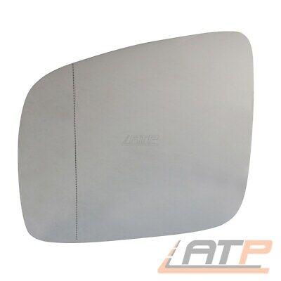 Spiegelglas heizbar links asphärisch für VW Caddy 3 VW Multivan T5  7H1857521N