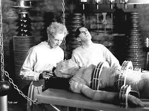THE BRIDE OF FRANKENSTEIN BLACK AND WHITE CLASSIC PHOTO 8X10  PHOTO 2F !!!