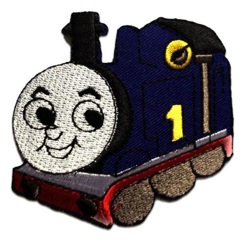 Parches termoadhesivos bor Thomas The Tank Train Baby niños 8,7x7cm azul