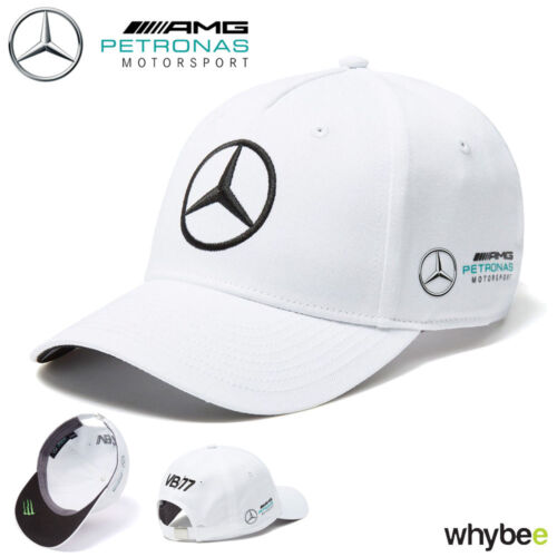 2018 Mercedes-AMG F1 Valtteri Bottas Drivers Cap (WHITE) Adult One Size