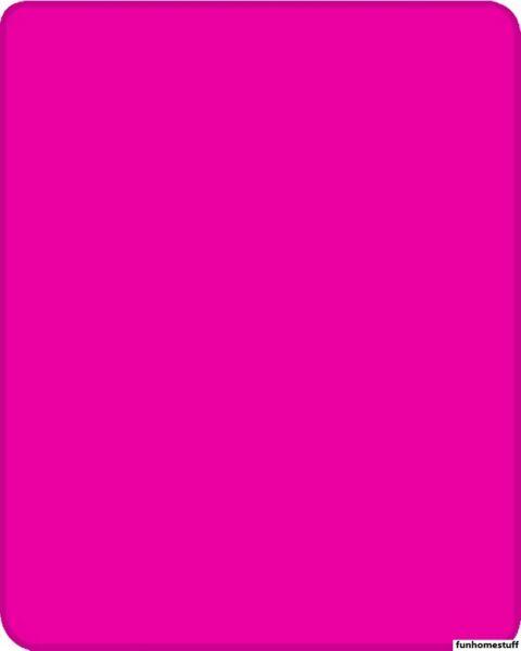 """Wilskrachtig Ultra Plush Warm Queen Heavy Weight Solid Hot Pink Faux Fur Mink Blanket 79""""x96"""" Crazy Prijs"""