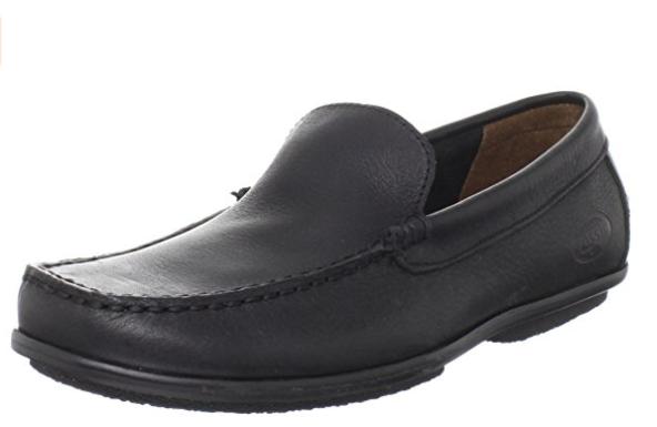 Fossil Gene Venitian Leather Black Mens shoes size US 7.5-13