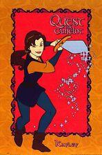 MOVIE POSTER~Kayley Garret Quest for Camelot Original 1998 Warner Brothers Print