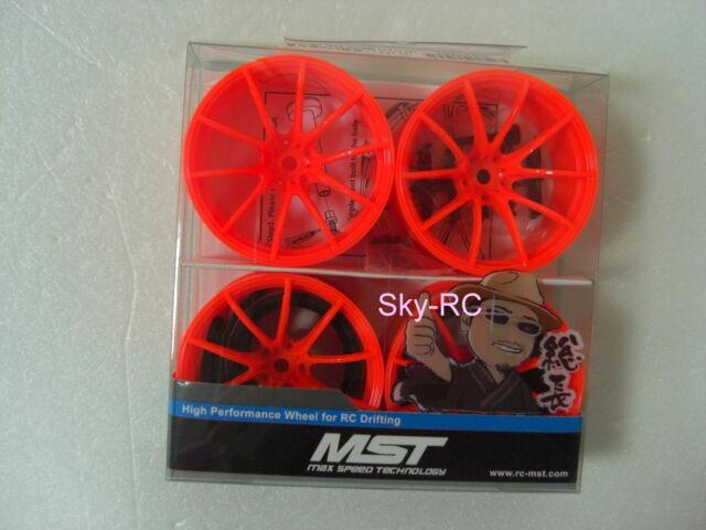 MST #102054O  Orange G25 Wheels offset 11 (4 PCS) 【Sky-RC】