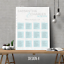 Personalised-Modern-Wedding-Seating-Plan-Planner-Table-Plans-Chart-A1-A2-A3 thumbnail 9