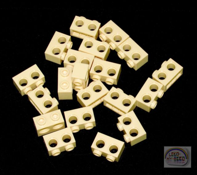 Lego ® Lot x10 Brique Penchée Slope Brick Inverted 1x3 Med Stone Grey 4287 NEW