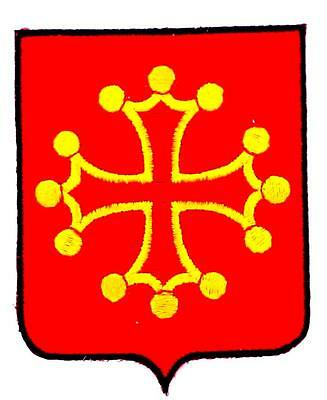 Patch ecusson brodé BOURGOGNE  Blason armoirie drapeau region heraldique