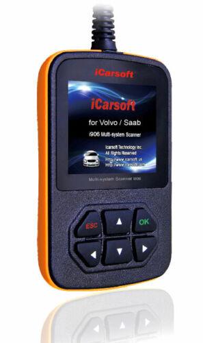 ICarsoft i906 Diagnostic Appareil pour volvo s40 s60 s70 s80 s90 v40 v50 v60 v70 v90