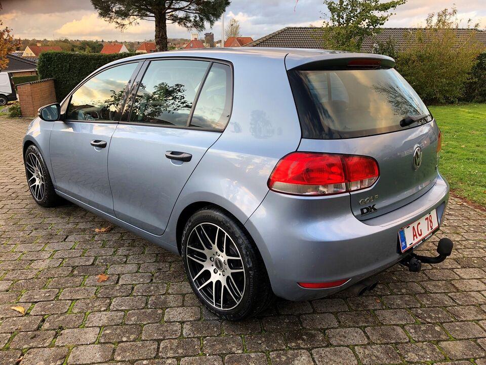 VW Golf VI, 2,0 TDi 110 Trendline, Diesel