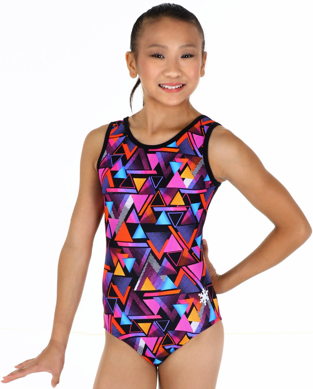 NEW  Triangles Gymnastics Leotard by Snowflake Designs