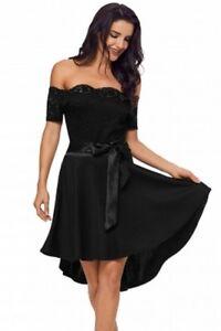 Minikleid Schulterfrei S 36 Kleid Partykleid Abendkleid ...