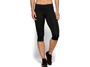 Details zu Asics Damen SILVER KNEE TIGHT Tights 34 Laufhose Laufshort Lauftight 2012A036