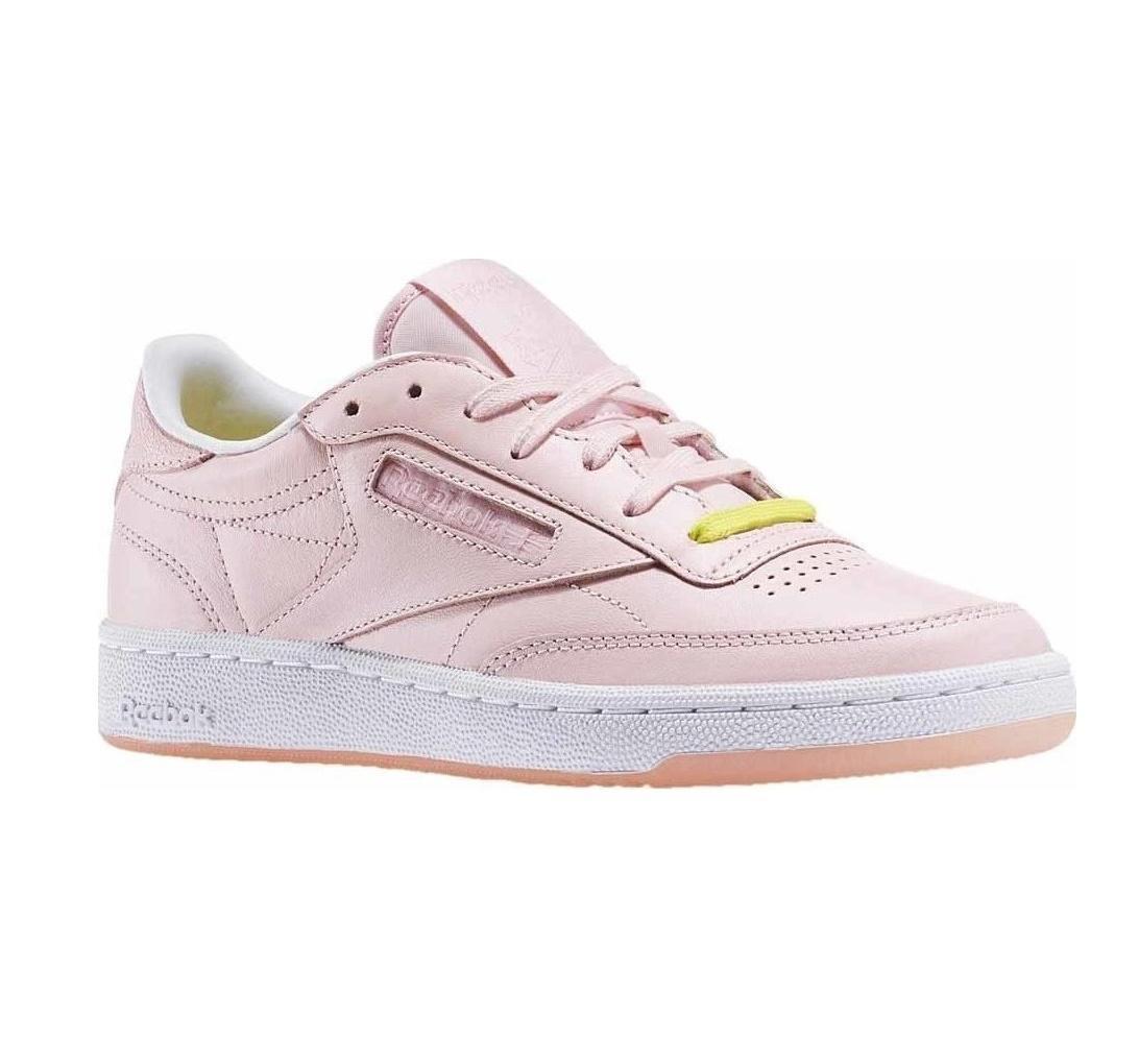 Damenschuhe REEBOK Pink CLUB C 85 FACE Pink REEBOK Trainers AR1409 1c98e5