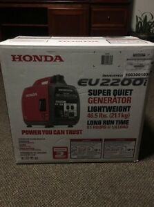 Image Is Loading Honda Super Quiet EU2200i 2 200W Portable Inverter
