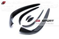 Carbon Fiber Front Bumper Side Canards 6 PCS Set for Mercedes W205 AMG Sport