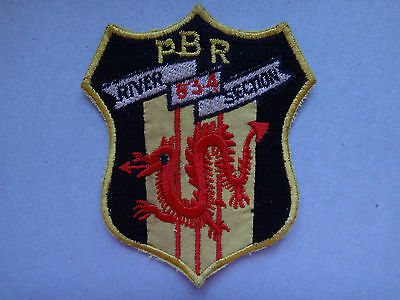 US Navy Machine Embroidered Patch PBR RIVER SECTION 534