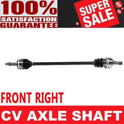 Front 2x CV Joint Axle Shaft For MAXIMA 92-94 SE Automatic Transmission