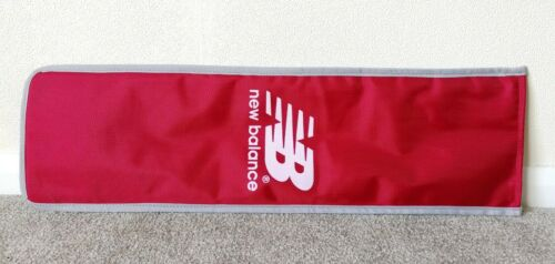 Half Length Red NEW BALANCE Cricket Bat Protective Cover Case