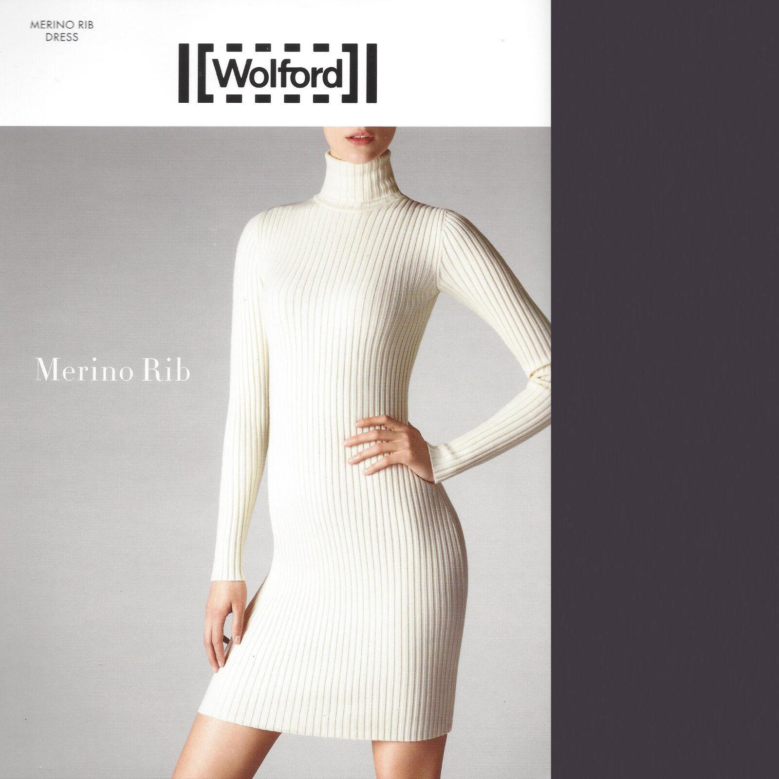 Wolford Merino Rib Dress   Kleid • M • raven  ... Herrlich weich und kuschelig