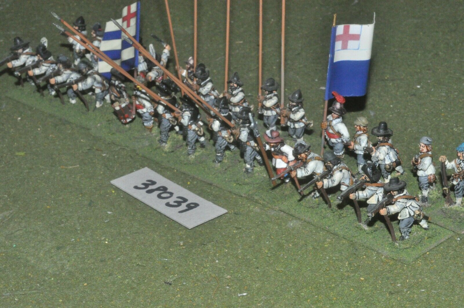 25mm ECW  English - pike & svarm 30 siffers - info (38039)