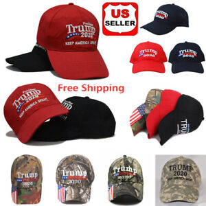 45f0990fd Details about Wholesale Trump 2020 Keep America Great Campaign Cap Hat  Embroidered USA Seller