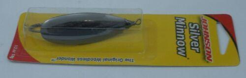 Köder, Futtermittel & Fliegen Angelsport Johnson Sm1/4-blk 7.4ml Schwarz-Silber Elritze Blinker 10164