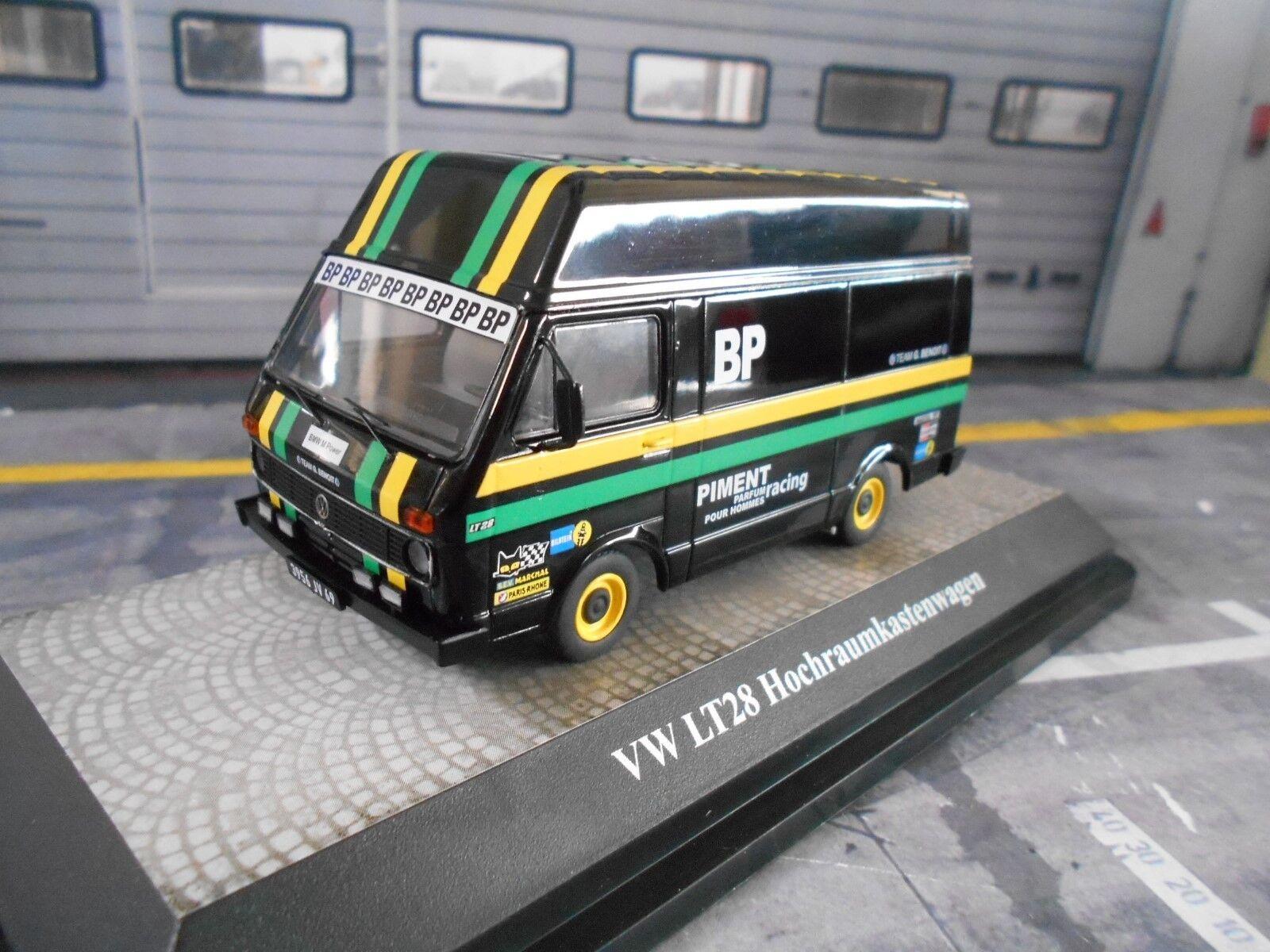 VW Volkswagen Bus lt28 LT VW Motorsport Hochraum encadré voiture Benoit BP SP 1 43
