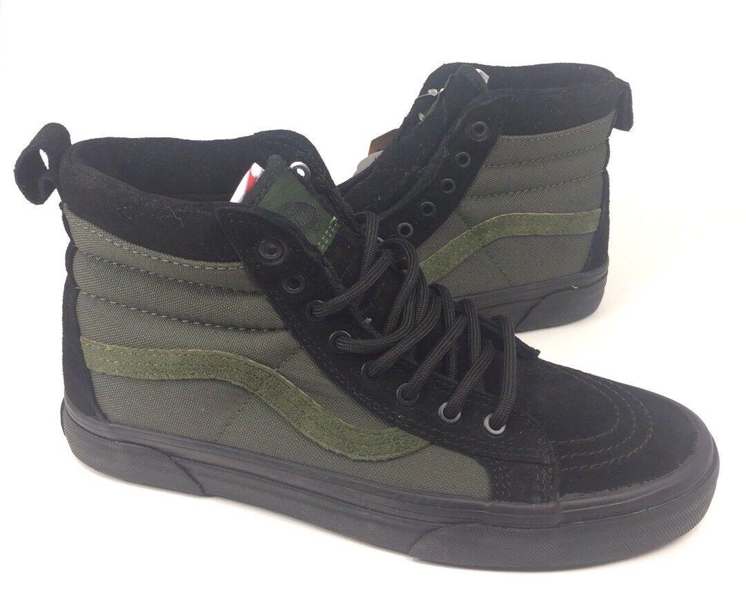 NEW Vans Sk8-Hi MTE All Weather nero verde verde verde Uomo Dimensione 6.5 8 Skate scarpe scarpe da ginnastica 4c0700