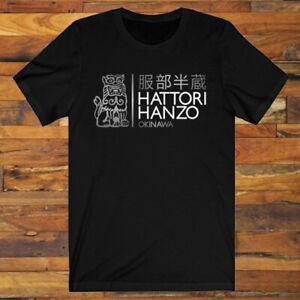New Popular Hattori Hanzo Okinawa Kill Bill Movie Men/'s Black T-shirt Size S-3XL