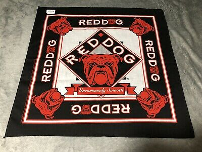 Vintage Red Dog Beer Rare Bandana New Old Stock Deadstock Made In Usa Ebay