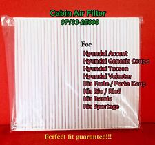 C35865 Premium Cabin Air Filter For Accent Veloster Forte Tucson Rio Sportage