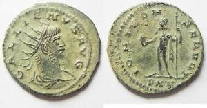 Beautiful Gallienus Silvered Antoninianus Good For Antipyretic And Throat Soother aa2157 Zurqieh