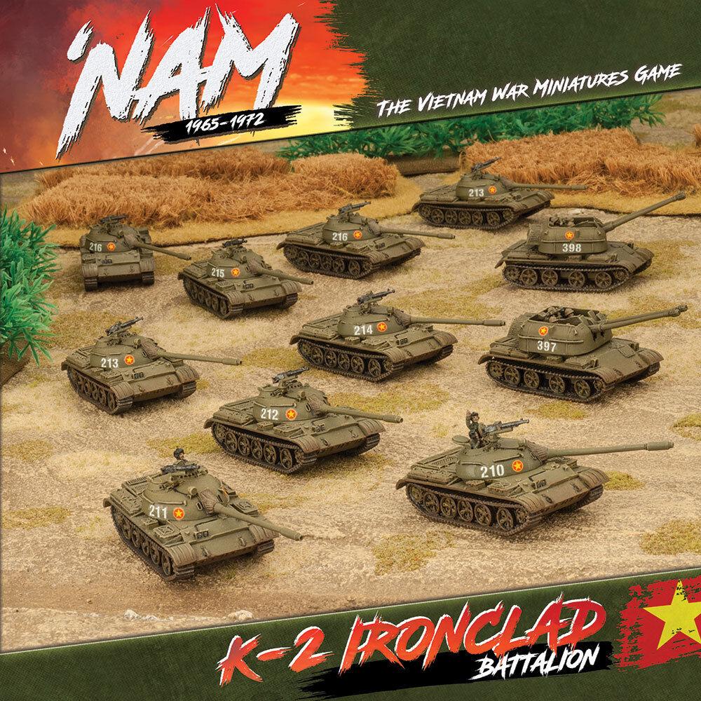 Vietnam 1965-1972 - vietnam war miniatures  game-k-2 ironclad battalion  meilleurs prix