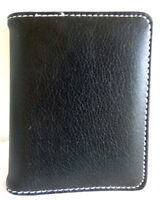 Leather Photo Holder For Your Purse Or Pocket/14 Double Sided Pages/5 X4